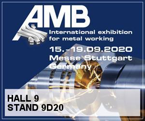 AMB STUTTGART 2020 International exhibition for metal working