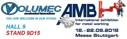 AMB STUTTGART 2018 International exhibition for metal working