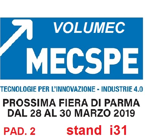 MECSPE -MOTEK 2019 PARMA (ITALY)28-30 MARCH