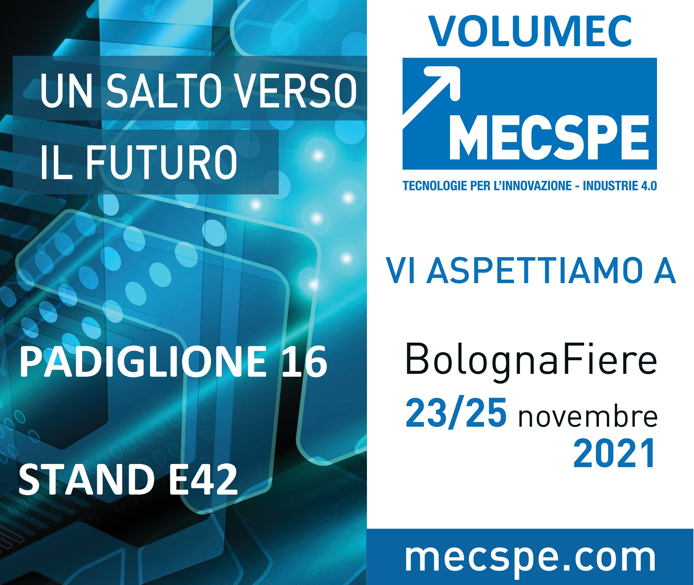 MECSPE -MOTEK 2017 PARMA (ITALY) 23-25 MARCH 2017