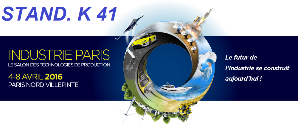 INDUSTRIE PARIS 2016  (4-8 APRIL 2016 )