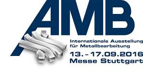 AMB STUTTGART 2016 International exhibition for metal working