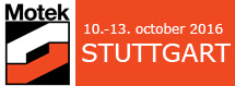 MOTEK STUTTGART 2016 International trade fair  for automation in production and assembly
